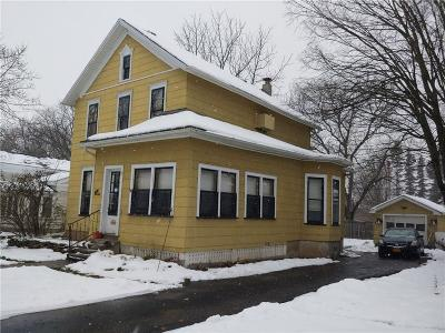 Genesee County Single Family Home A-Active: 120 Myrtle Street Southwest