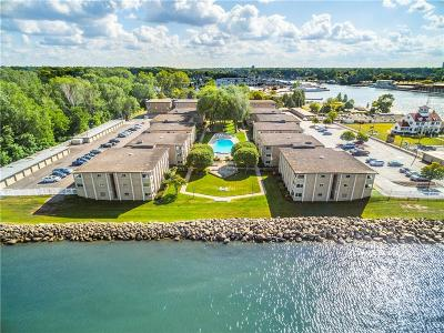 Orleans County, Monroe County, Niagara County, Erie County Condo/Townhouse A-Active: 108 Westage At The Harbor