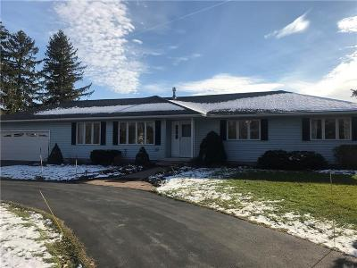 Canandaigua, Canandaigua-city, Canandaigua-town Single Family Home A-Active: 5207 Bristol Road