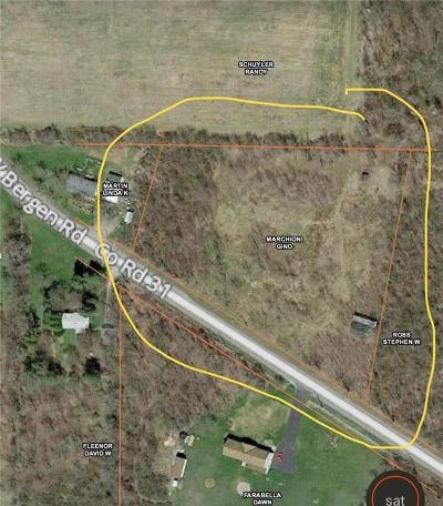 Genesee County Residential Lots & Land A-Active: 8267 West Bergen Road