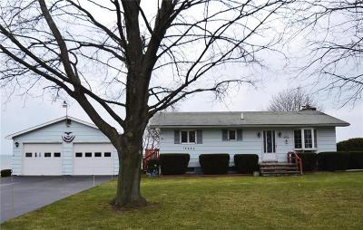 Orleans County Single Family Home U-Under Contract: 14683 Lakeshore Road
