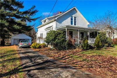 Frewsburg Single Family Home U-Under Contract: 89 North Pearl Street