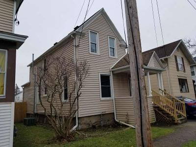 Genesee County Single Family Home U-Under Contract: 32 Columbia Avenue