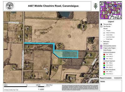Residential Lots & Land A-Active: 4487 Middle Cheshire Road