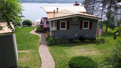 Single Family Home A-Active: 5769 West Lake Road