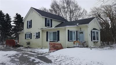 Genesee County Single Family Home A-Active: 8077 State Street Road