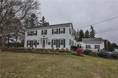 Orleans County, Monroe County, Niagara County, Erie County Single Family Home A-Active: 397 West Bloomfield Road