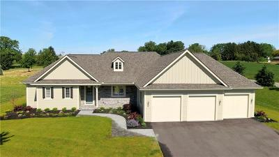 Pittsford Single Family Home Active Under Contract: 3 Hawkstone Way