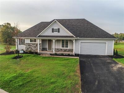 Pittsford Single Family Home For Sale: 9 Hawkstone Way