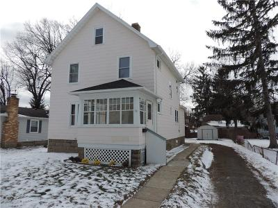 Rochester Single Family Home U-Under Contract: 75 West Parkway