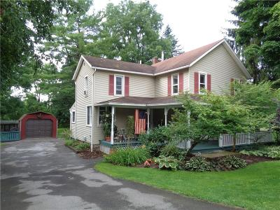 Mendon Single Family Home U-Under Contract: 3859 Rush Mendon Road