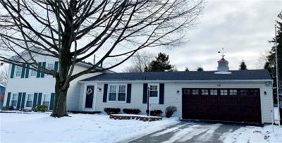 Pittsford Single Family Home U-Under Contract: 58 Tumbleweed Drive
