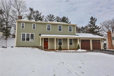 Pittsford Single Family Home U-Under Contract: 40 Sturbridge Lane