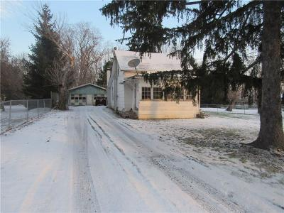 Single Family Home A-Active: 3872 Depew Road