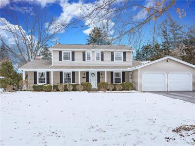 Rochester Single Family Home U-Under Contract: 268 True Hickory Drive