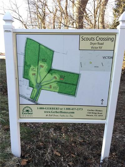 Victor Residential Lots & Land For Sale: 2-000 Dryer Road