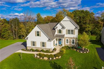 Victor Single Family Home A-Active: 7169 Brent Knoll