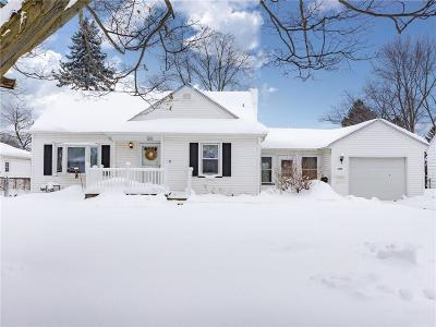 Rochester Single Family Home U-Under Contract: 120 Morncrest Dr