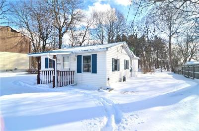 Genesee County Single Family Home A-Active: 3720 West Main Street Road
