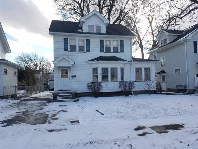 Rochester Single Family Home U-Under Contract: 81 Parkwood Road