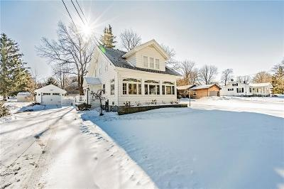 Webster Single Family Home U-Under Contract: 499 Lake Road