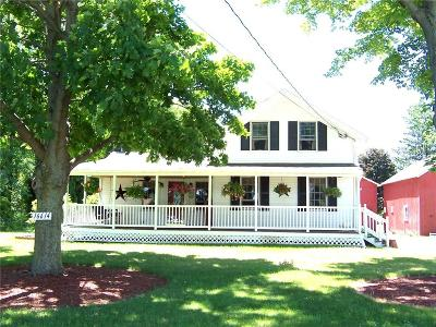 Orleans County Single Family Home A-Active: 16614 Ridge Road