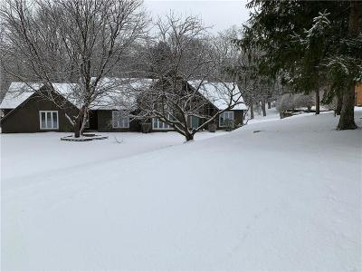 Pittsford Single Family Home U-Under Contract: 1 Burgundy