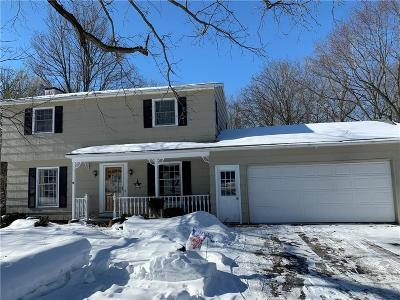 Penfield Single Family Home U-Under Contract: 1755 Scribner Road