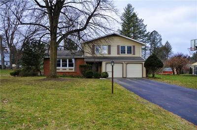 Pittsford Single Family Home U-Under Contract: 23 Musket Lane
