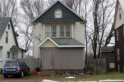 Jamestown NY Single Family Home For Sale: $44,900