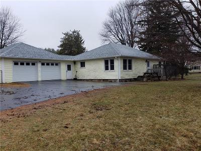 Canandaigua, Canandaigua-city, Canandaigua-town Single Family Home A-Active: 3814 South State Route 21 Highway