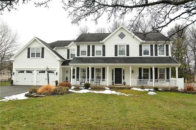 Penfield Single Family Home U-Under Contract: 7 Red Rose Circle