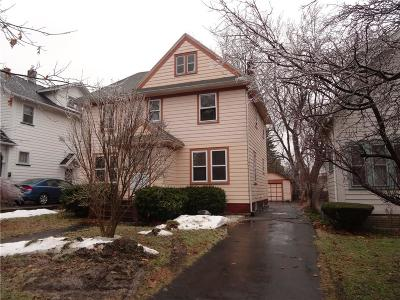 Rochester Single Family Home U-Under Contract: 150 Parkside Avenue