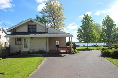 Ashville, Bemus Point, Celoron, Chautauqua, Chautauqua Institution, Dewittville, Gerry, Greenhurst, Jamestown, Lakewood, Maple Springs, Mayville Single Family Home A-Active: 2332 West Lake Road