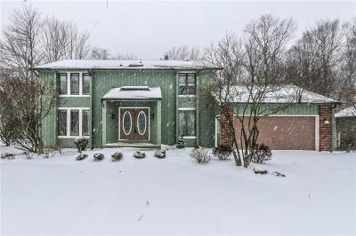 Rochester Single Family Home U-Under Contract: 206 Andiron Lane