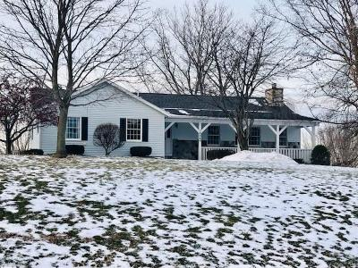 Orleans County Single Family Home U-Under Contract: 14049 Allen Road