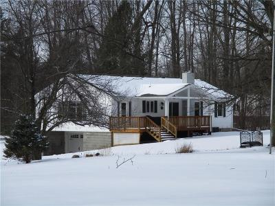 Orleans County Single Family Home U-Under Contract: 5085 Holley Byron Road