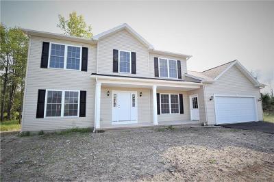 Chili Single Family Home For Sale: Lot #618 Christina Drive
