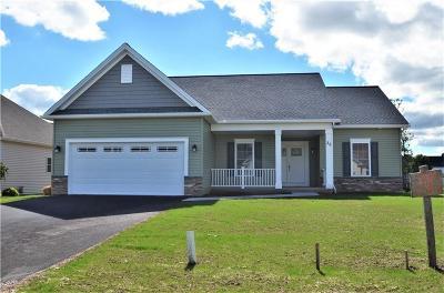 Chili Single Family Home For Sale: Lot #622 Christina Drive