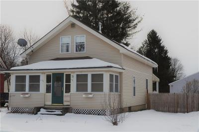 Frewsburg NY Single Family Home A-Active: $110,000