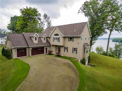 Ashville, Bemus Point, Celoron, Chautauqua, Chautauqua Institution, Dewittville, Gerry, Greenhurst, Jamestown, Lakewood, Maple Springs, Mayville Single Family Home A-Active: 3734 Victoria Road