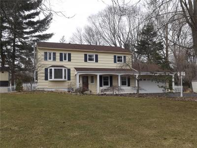 Pittsford Single Family Home U-Under Contract: 7 Sturbridge Lane