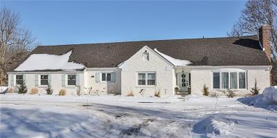Pittsford Single Family Home A-Active: 1058 Pittsford Mendon Road