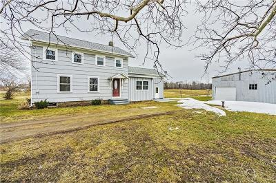 Orleans County Single Family Home A-Active: 1553 Center Road