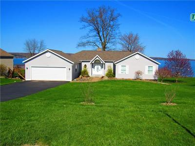 Chautauqua County Single Family Home A-Active: 2714 Lakeshore Dr Sunrise Cove