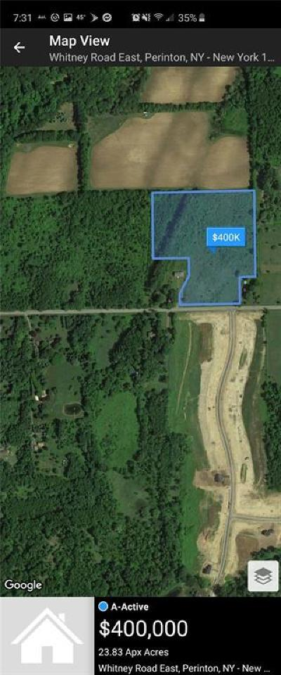 Perinton Residential Lots & Land For Sale: Whitney Road East