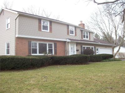 Penfield Single Family Home U-Under Contract: 124 Hillary Lane