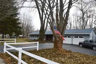 Monroe County Single Family Home A-Active: 690 North Greece Road