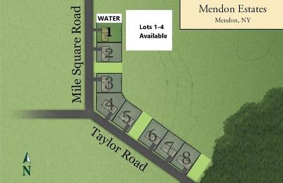 Mendon Single Family Home A-Active: Lots 1-4 Mile Square Rd Road