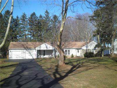 Penfield Single Family Home U-Under Contract: 1645 Scribner Road